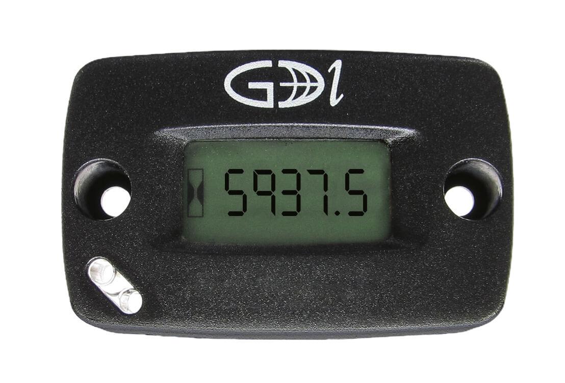 Tachometer With Hour Meter : Sendec hour meter inductive input tachometer hour meters