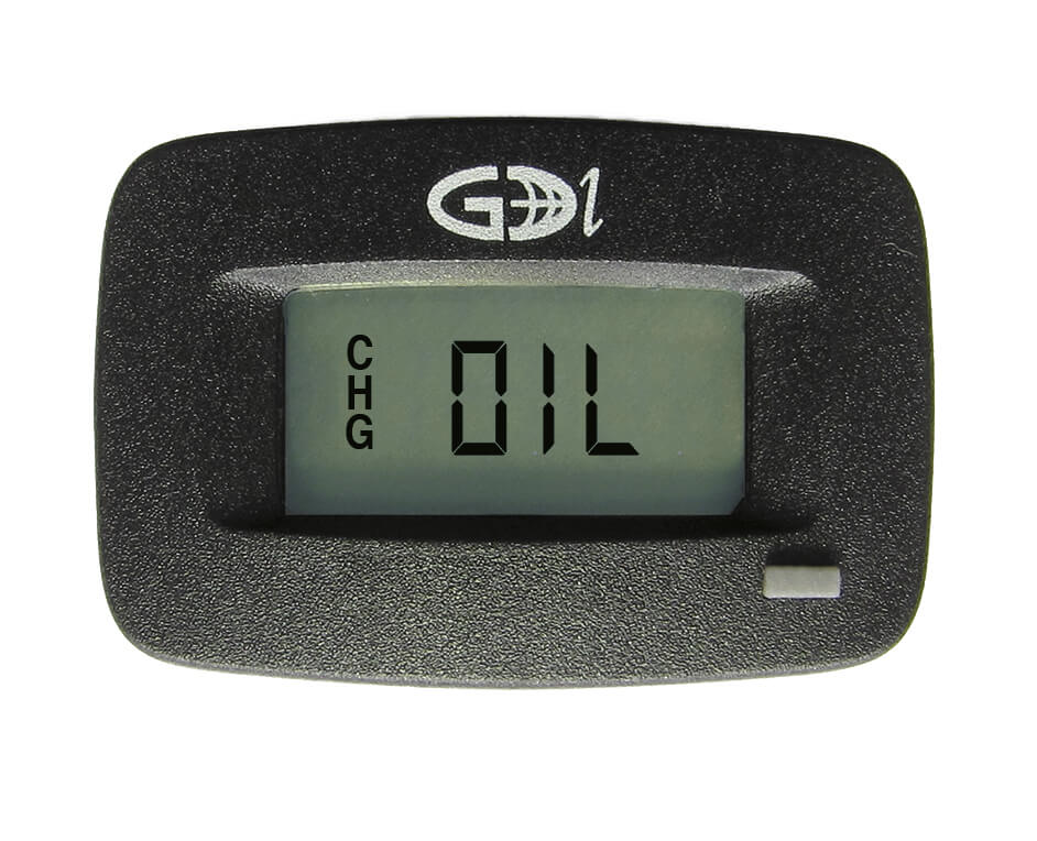 2in. Model# N530-0200-8111 GDI Round Hour Meter with Retainer Clip